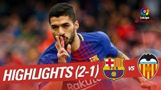 Resumen de FC Barcelona vs Valencia CF (2-1)