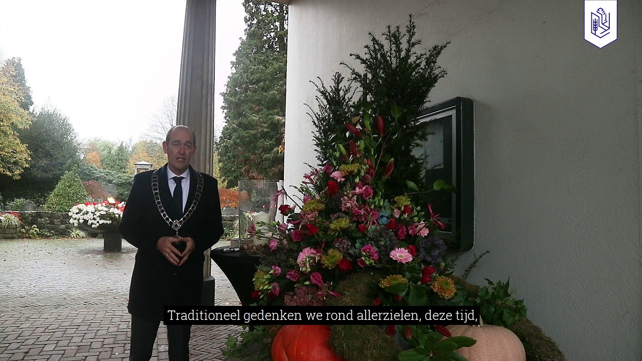 Burgemeester Sander Schelberg start de weken van gedenken