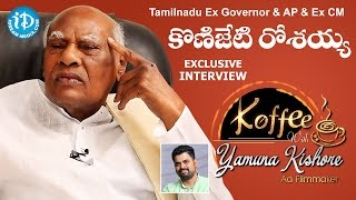 TN Ex-Governor & AP Ex-CM K.Rosaiah Exclusive Interview