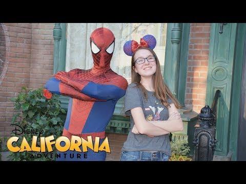 disney california adventure vlog!
