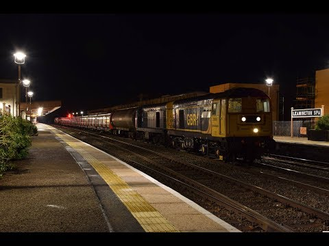 GBRf 20905, BR Blue 20107 & HNRC 20314 & 20311 at Leamington…