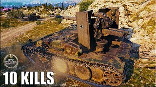 Фартовый КОЛОБАНОВ на Grille 15 🌟 10 ФРАГОВ 🌟 World of Tanks gameplay