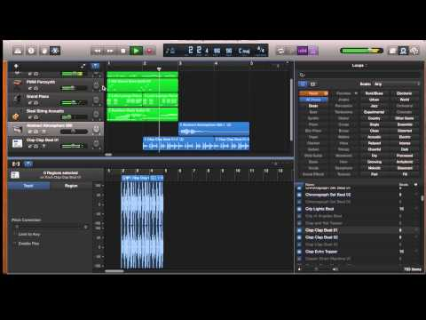 GarageBand Tutorial 2 – Using Loops in GarageBand on the iMac and iPad
