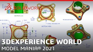Model Mania 2021 - 3DEXPERIENCE World