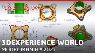 Model Mania 2021 - 3DEXPERIENCE World