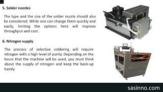 Selective Soldering Machine Manufacture: The Aspects To Consider