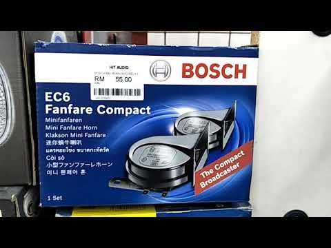 Car BM Horn - Bosch / Hella / Stedel / Dehart