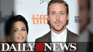 Eva Mendes Responds To Ryan Gosling's Sweet Golden Globes Speech In Most Subtle Way Ever