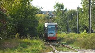 preview picture of video 'Tramwaje Śląskie - Interurban tramways in Upper-Silesia'