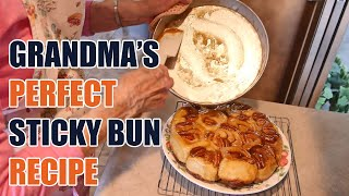 Grandma's Perfect Sticky Buns Recipe
