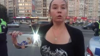"""ИДПС Ульяновска и неадекватная """"журналистка"""""""