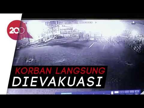 CCTV Kepanikan Pekerja saat Ambruknya Bekisting Pierhead Tol Becakayu