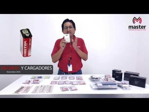 Nuevos Productos Master - 01 Noviembre 2016 - Baterías y cargadores