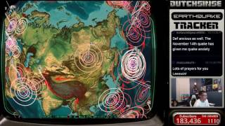 1/02/2017  Nightly Earthquake Update + Forecast  Week Of New Unrest Coming  New Deep EQs