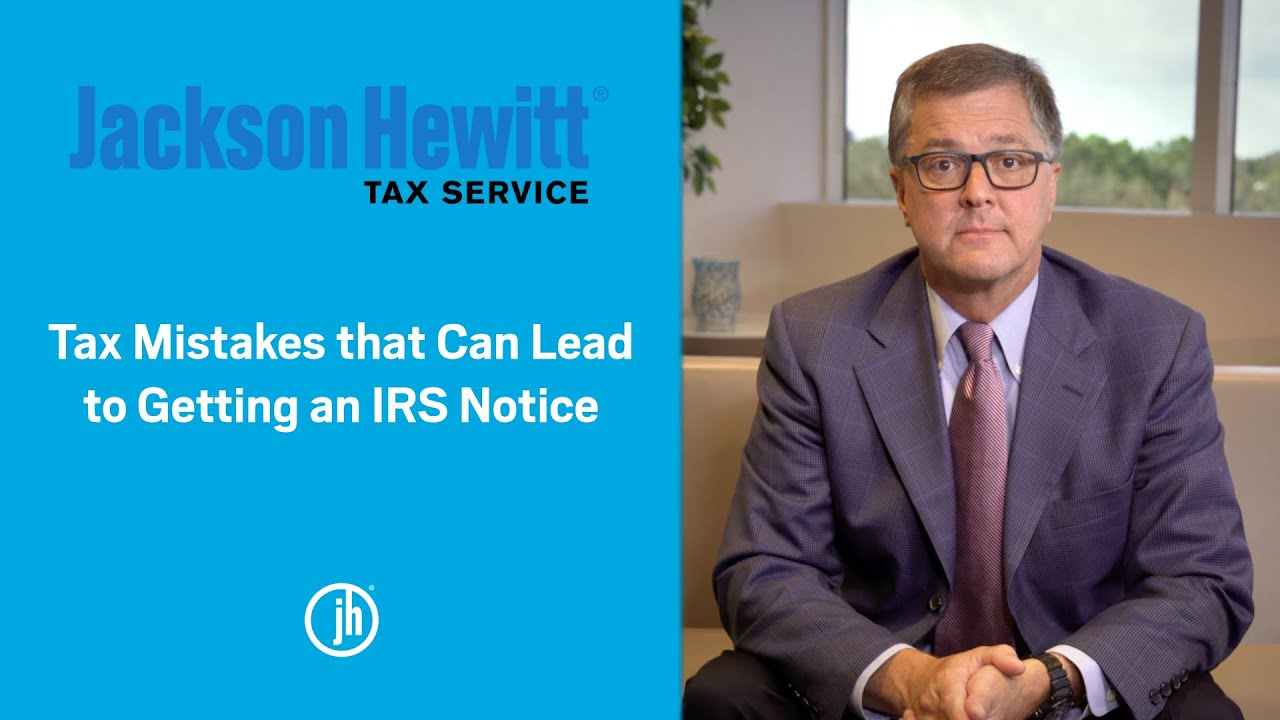 What Tax Mistakes Lead to Getting an IRS Letter or Notice YouTube thumbnail