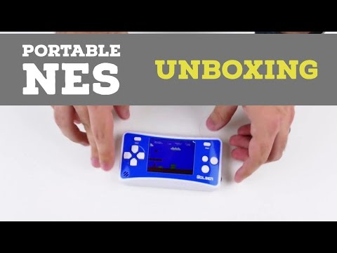 Wolsen/E-MODS Portable NES Handheld Unboxing