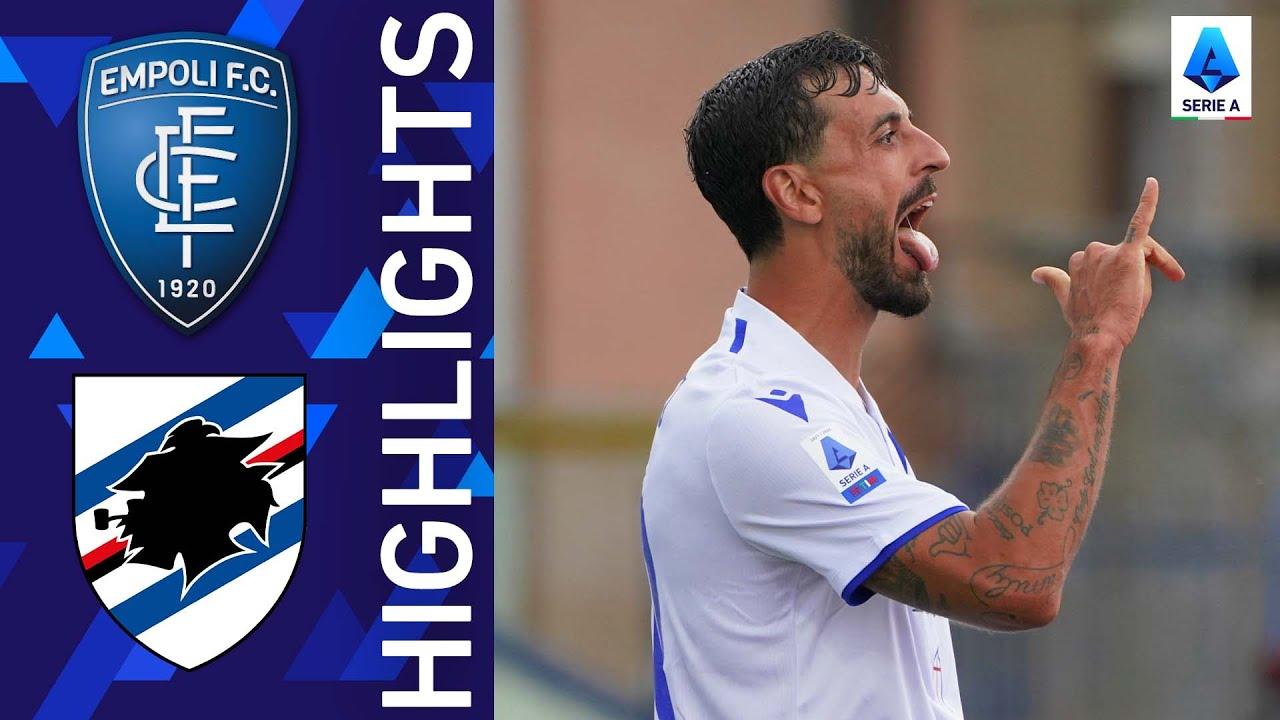 Empoli 0-3 Sampdoria | Caputo hits Empoli with a brace! | Serie A 2021/22