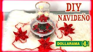 ELEGANT CHRISTMAS CENTERPIECES DIY FROM DOLLARAMA