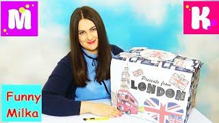 Подарки для Люды от Miss Katy и Mister Max Посылка из Лондона Огромное маршмеллоу