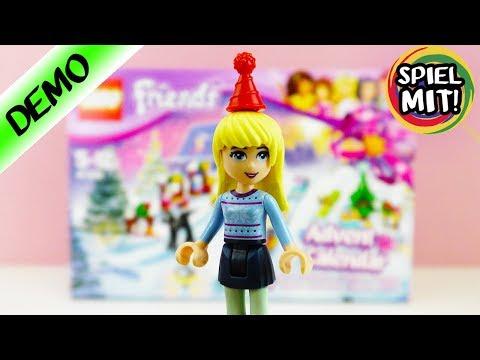 LEGO FRIENDS ADVENTSKALENDER - Wir öffnen ALLE 24 TÜRCHEN - 41326