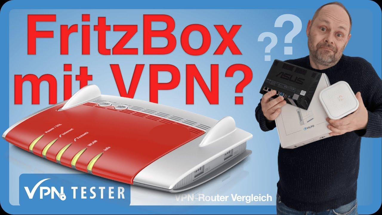 Anleitung: FRITZbox VPN einrichten 1