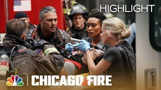 Kidd Rushed To Chicago Med   Chicago Fire (Episode Highlight)