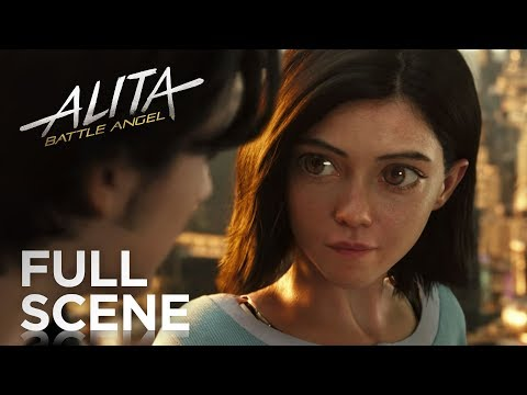 Alita: Battle Angel | Full Scene | 20th Century FOX
