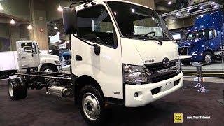 2019 Hino 195 Truck - Exterior And Interior Walkaround - 2019 Expocam Montreal