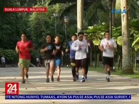 [GMA]  24 Oras: Suporta ng mga Pinoy sa Kuala Lumpur sa bakbakang Pacquiao- Matthysse, ramdam na ramdam