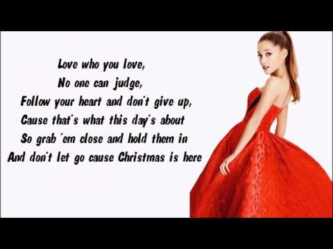 Ariana Grande - Love Is Everything Karaoke / Instrumental with lyrics on screen