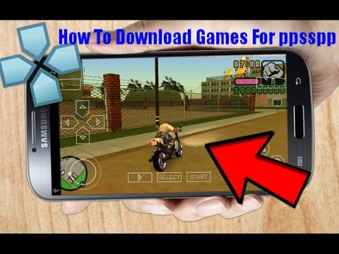 How to download all your favourite ppsspp games in android