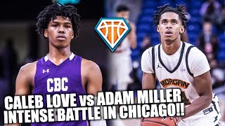INTENSE BATTLE NEEDS OVERTIME!! | Caleb Love vs Adam Miller Was A DOGFIGHT FROM START TO FINISH