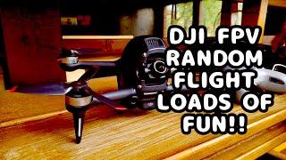 DJI FPV random flight
