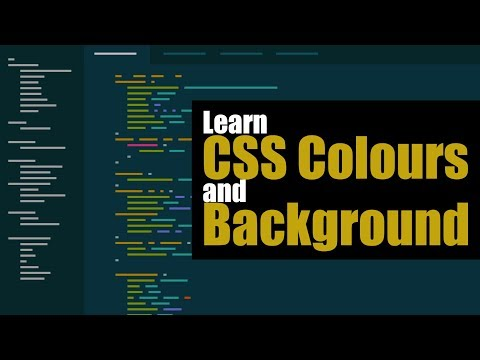 Understanding CSS Colours and Background in HTML | Eduonix