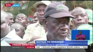 CORD MP's Put House Speaker Justin Muturi On Notice Over MP's Wandayi's Reinstatement