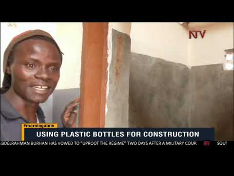 ON THE GROUND : Using plastics for house construction