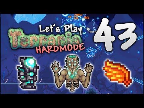 Let's Play Terraria 1 3 5 | SOLAR Wings & VORTEX Armour Farming [Episode  43] - PythonGB