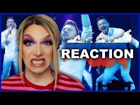 RUSSIA - Sergey Lazarev - Scream - LIVE | Eurovision 2019 Reaction