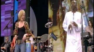 Live 8 Dido & Youssou N'Dour - 7 Seconds