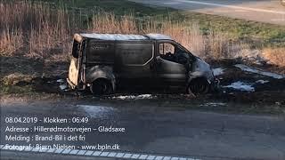 08.04.2019 – Ild i varevogn – Gladsaxe