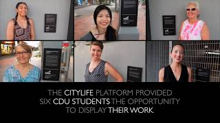 I was lucky enough to be selected for The CITYLIFE Platform provided by Darwin City Council. What a