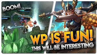 WP IS SO FUN!! Vainglory 5v5 [Ranked] Gameplay - Grace  WP  Top Lane Gameplay