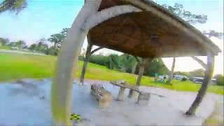 DJI FPV Goggle DVR LOW LIGHT / DUSK w Runcam RC18g ~ ImpulseRc APEX Gemfan 51466 ~ Freestyle Flow ~
