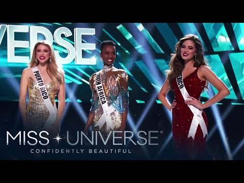 Meet the Miss Universe 2019 Top 3 | Miss Universe 2019