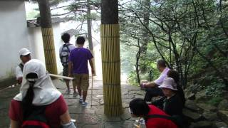Video : China : Exploring the beautiful HuangShan 黄山 mountain; part 1 (8/8)