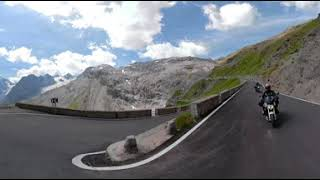 Stelvio Pass GoPro Fusion 360 RAW video