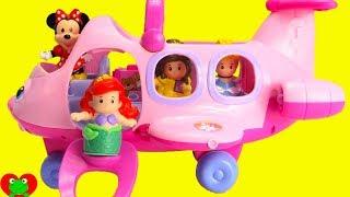 Disney Princess Little People Magical Airplane Surprises
