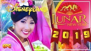 Disneyland Lunar Year 2019 & Mushu and Mulan Meet and Greet!