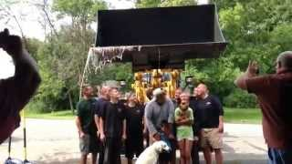 preview picture of video 'ALS Ice Bucket Challenge at Big 4 Tire East Syracuse, NY'