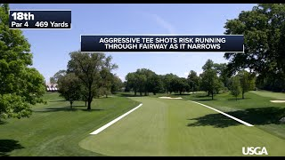 2020 U.S. Open: Flyovers of Winged Foot Golf Club's West Course, all 18 Holes